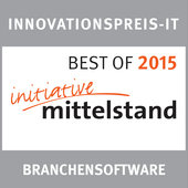 Innovationspreis IT 2015 - Best of Branchensoftware für PiCal der Schorndorfer Werbeagentur SEYBOLD