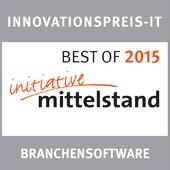 Innovationspreis IT 2015 - Best of Branchensoftware für PiCal der Schorndorfer Werbeagentur SEYBOLD