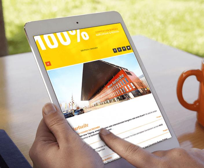 Conventionbureau Karlsruhe mit neuer Website