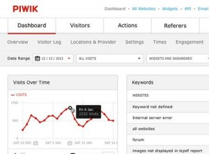 PIWIK Analytics als Option zu Google Analytics