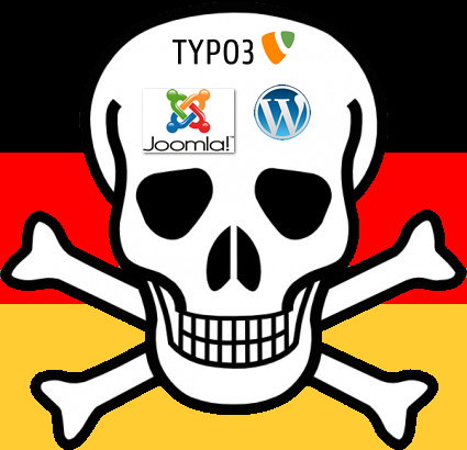 security Issues bei WordPress Joomla Typo3 und anderen