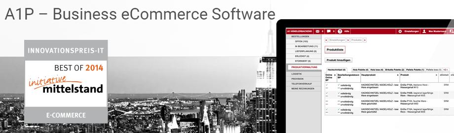 A1 Business Commerce Suite - Für alle, denen andere Profilösungen zu teuer sind