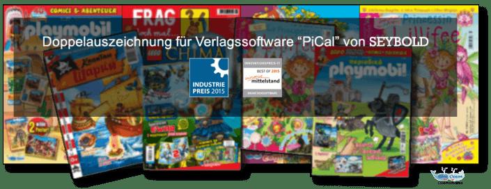 PiCal Verlagssoftware zur Steuerung und Projektmanagement für Verlage mit Magazinen
