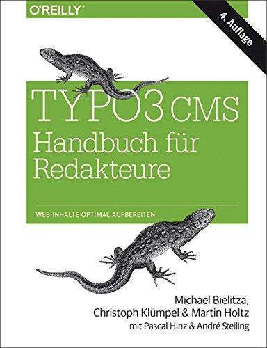 Typo3 CMS - Handbuch für Redakteure