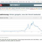 Spinenn die Briten? SPiegel - Brexit