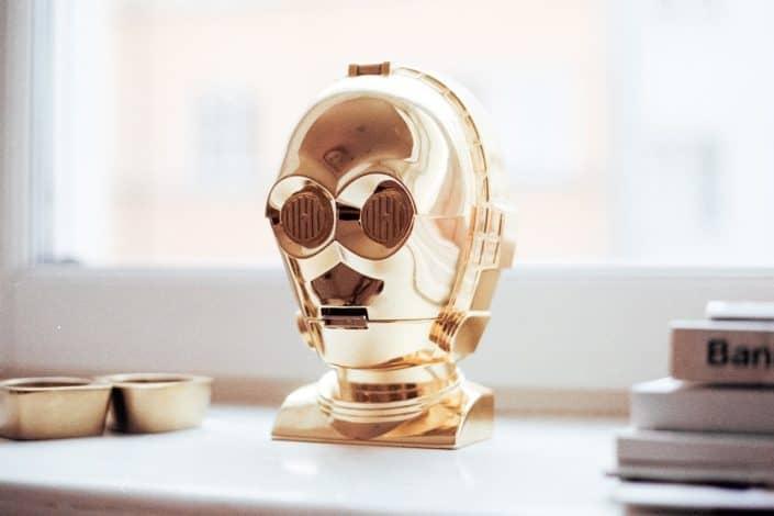 Chatbots wie C3PO - Kommunikationsroboter - werden bald wahr