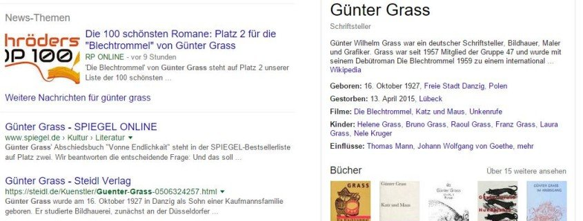 Platz 1: google-knowledge-graph