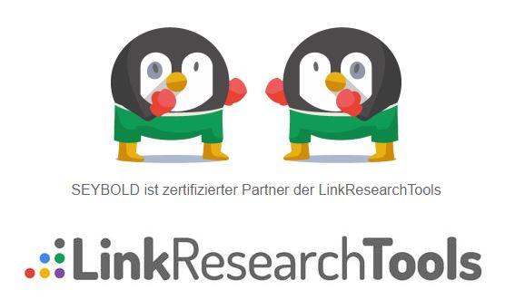 SEYBOLD ist zertifizierter Partner der LinkResearchTools