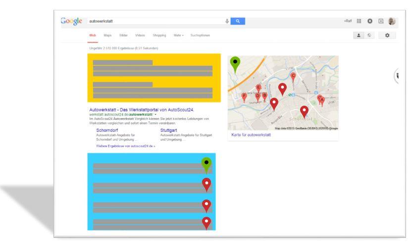 Die lokale Suche und deren Ergebnisse - Top werden mit Local SEO