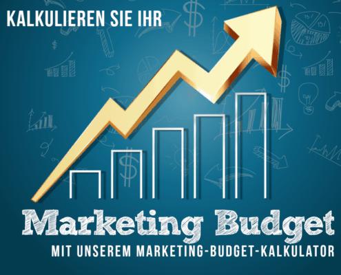 Mit dem Marketing Budget Kalkulator können Sie Ihr Planbudget für Online Marketing errechnen