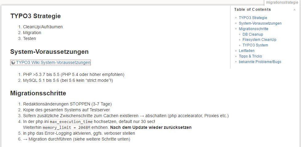 Migrationsstrategie aus dem Wiki der Uni Wuppertal