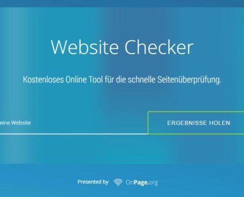 onpageorg website checker von ralf seybold