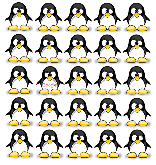 Realtime Penguin by Google (free at pixaby)