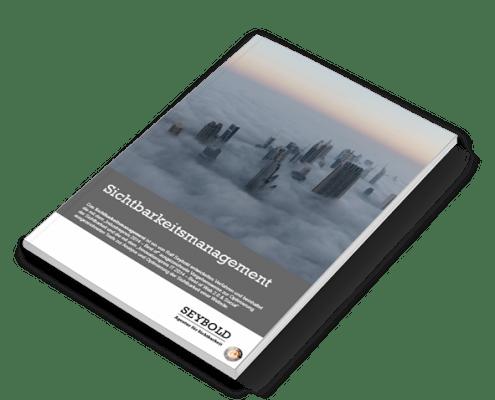 Sichtbarkeitsmanagement - Das kostenlose Buch für alle, die mehr wollen, als nur SEO.