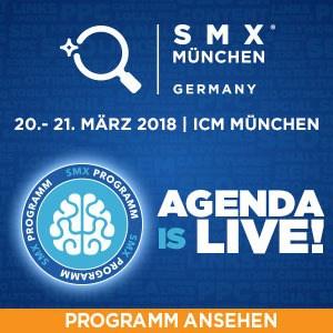 SMX München 2018 - Programm verfügbar