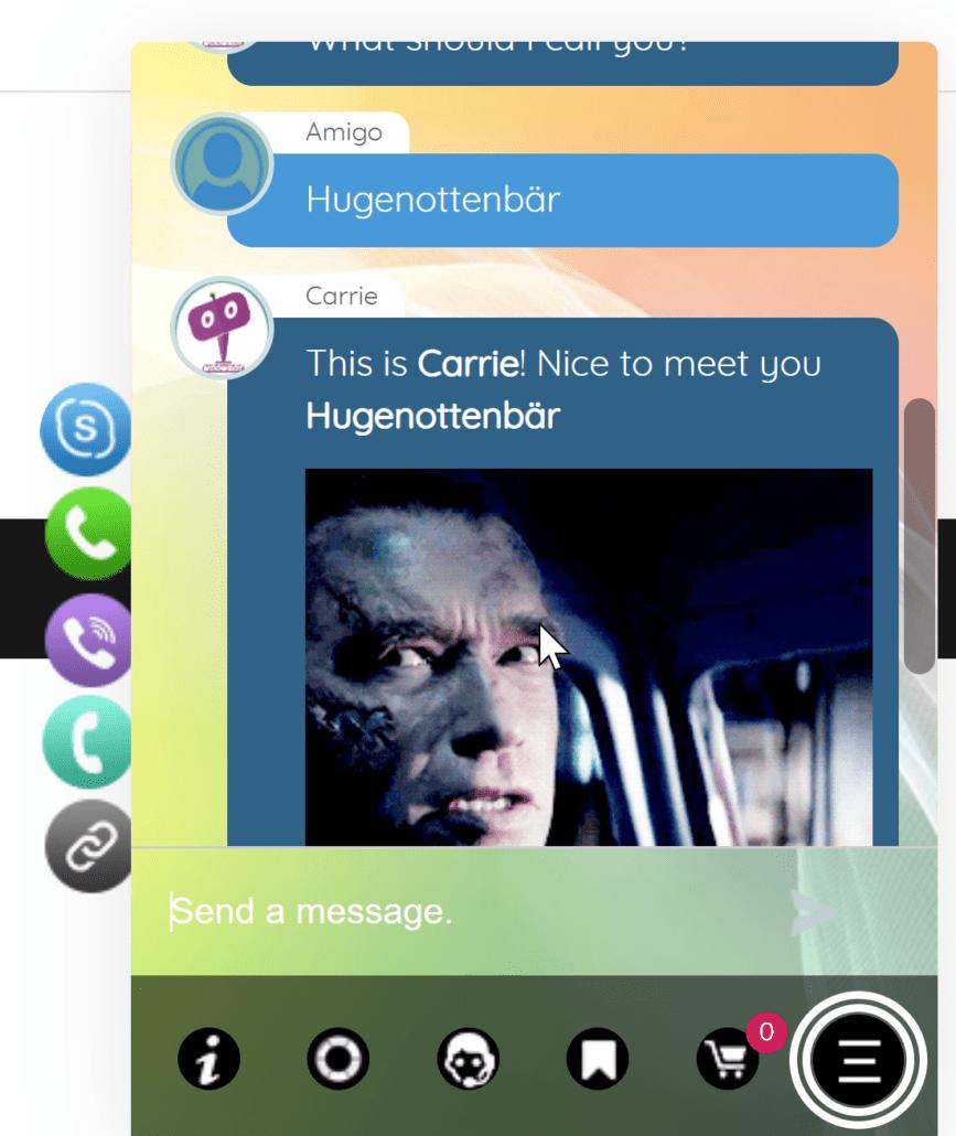 WoowBot Chatbot für WooCommerce